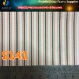 Mercancías pronto, tela del poliester, alineando la tela, tela de la raya (S138.141)