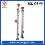 Mètre de niveau réversible magnétique en acier inoxydable 304 en acier inoxydable