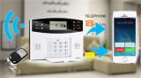 Wireless Intruder Self Monitoring Sistema de alarme GSM com display LCD e teclado