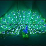L'éclairage dynamique conduit Peacock grande piscine de la nouveauté des feux de décoration