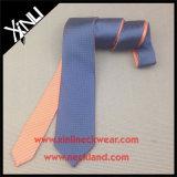 O dobro por atacado do Mens tomou o partido gravata reversível tecida seda