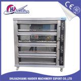 Industriële Commerical 3 Dek 12 Oven van het Dek van Dienbladen de Elektrische voor Brood