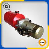 Unidade da energia hidráulica do reboque da descarga, 24V dobro que actua, tanque do metal 10L
