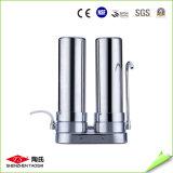 Épurateur de bureau de l'eau de maison d'acier inoxydable de 2 étapes