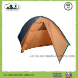 4 Personen-doppelte Schicht-kampierendes Zelt mit Extension