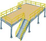 Plataforma de estrutura de aço pré-fabricada para indústria