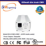 Hydroponic kweek de Lichte 630W Reflector Met twee uiteinden van de Ballast van CMH /1000W HPS Digitale Elektronische