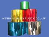 PVC에 의하여 금속을 입히는 필름/은 금 화환 훈장을%s 다채로운 필름 PVC 코팅 필름