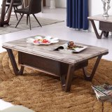 현대 거실 가구 대리석 상단 커피용 탁자 (LC2014)
