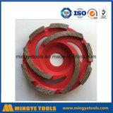Красное колесо чашки диаманта для меля камня/мрамора
