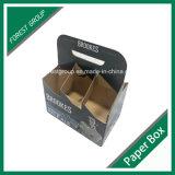 Caixa de embalagem de papelão de garrafa impressa (FP020002)