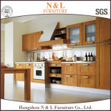 Gabinete de cozinha de madeira de N&L Veener na alta qualidade