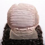 深のRemyの人間の毛髪の完全なレースの人間の毛髪のかつらの波(QB-LFW-DW)