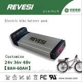 36V 10ah 리튬 전기 자전거를 위한 재충전용 Ebike 건전지 팩