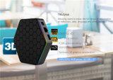 5g WiFiスマートなTVボックスとPendoo T95z