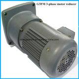 Série trois/réducteur hélicoïdal de moteur de boîte de vitesse de G3FM monophasé avec la bride