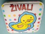 Pato Amarillo bebé primera impresión de libros