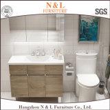 Governo moderno di vanità della stanza da bagno della quercia di legno solido di N&L