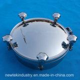 衛生タンクManway円形圧力タイプステンレス鋼
