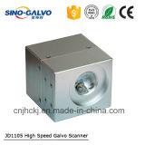 Varredor do galvanômetro do laser do CO2 da alta qualidade Jd1105/varredor do Galvo/cabeça de varredura para a estaca do laser