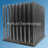 На холодном двигателе налаживание алюминиевый радиатор, контакт ребер радиатора