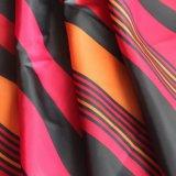 Brilhante 100% poliéster Taffeta tingidas Fabric (SLTN9109) para a peça de vestuário