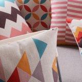 Almofadas de linho de algodão de baixo preço para móveis ao ar livre