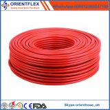 Tubo flessibile del gas di rinforzo di fibra del coperchio di PVC di qualità superiore