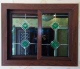 Высокое качество Woodgrain ПВХ/UPVC раздвижное окно (Л.С.-SW15)