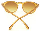 F17237 Itália Design da estrutura redonda de plástico para óculos de sol barato óculos de sol