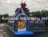 Inflável Bouncy Slide / Robot Slide Fun City / Inflatable Amusement Playground