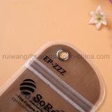 La poche imperméable à l'eau de pudding pour le téléphone, téléphonent le sac imperméable à l'eau avec l'impression de logo