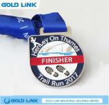 Récompenses courantes de sports de médaillon de module de finition de chemin de marathon de médaille