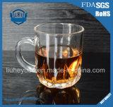 прозрачная чашка без примеси свинца чая кофейной чашки 230ml