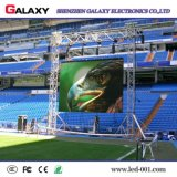 La pubblicità esterna dell'interno dell'affitto di P3.91 P4.81 RGB flessibile installa la parete del video della visualizzazione del comitato del LED