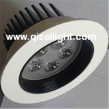 shell LED Downlight de 7X1w White+Black