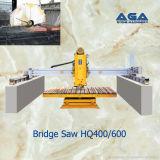 Machine de découpage en pierre de passerelle pour le marbre de Sawing/machine de granit (HQ400/600)