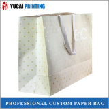 Хозяйственная сумка золота остроконечная бумажная для одежды