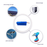 Pilha recarregável 26650 12V 100Ah LiFePO4 Bateria para armazenamento dos raios solares