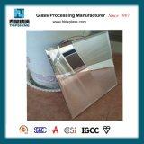 Espejo de la plata del borde del cartabón del diseño moderno para las fuentes del cuarto de baño del hotel