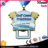 Medalha 2017 feita sob encomenda da campanha do metal da lembrança com fita