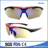 Qualitäts-kundenspezifische Firmenzeichen-Sport-Sonnenbrille-Fabrik