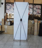 Portable Carbon Fiber Frame Economic X Banner Stand (BN-10-1)