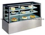 Refrigerador do bolo do equipamento de Refrigeration do fabricante de Guangzhou para a loja da padaria