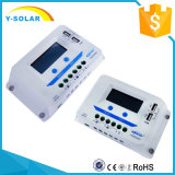 Controlador USB/2.4A duplo Vs6024au da célula solar de Epsolar 12V/24V 60A LCD