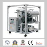 Sistema de alto vacío de doble etapa Instalaciones de purificación de aceite para transformadores móviles