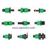 Tipo utilización apropiada de la tuerca de fijación de la cinta del goteo para la línea de paredes delgadas del goteo
