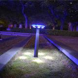 Lumière solaire de jardin de champignon de couche de lumière de pelouse de décoration de jardin de modèle d'UFO à vendre