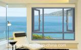 Das meiste populäres China-Fabrik Belüftung-Flügelfenster-einzelne Glasfenster