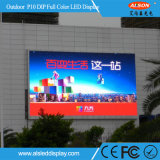 옥외 P10 복각 게시판을%s 조정 LED 영상 벽 스크린